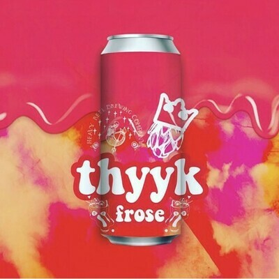 Kings Brewing & Heavy Reel - Thyyk Frose - Sour mangue - 7% - canette 47cl
