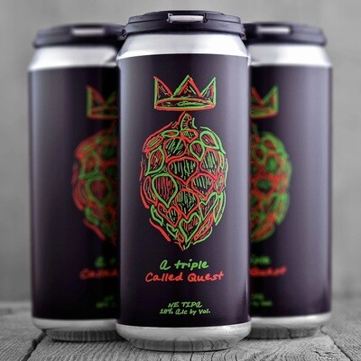 Local Craft Beer (LCB - USA) - A Triple Called Quest - Triple New England IPA - 10% - canette 47cl
