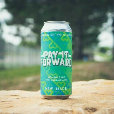 New Image Brewing (USA) - Pay It Forward - New England IPA - 7,8% - Cannette 47.3cl
