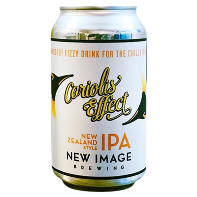 New Image Brewing (USA) - Coriolis Effect - New England IPA - 6,5% - Cannette 35.5cl