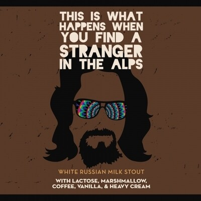 New Image Brewing (USA) - This Is What Happens When You Find A Stranger In the Alps - Imperial Stout - 10.5% - Cannette 47.3cl
