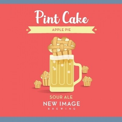 New Image Brewing (USA) - Pint Cake : Apple Pie - Sour Ale - 7.2% - Cannette 47.3cl