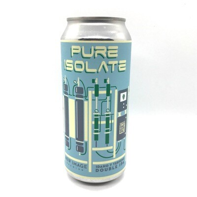 New Image Brewing (USA) - Pure Isolate : Idaho 7 - Double New England IPA - 9,5% - Cannette 47.3cl
