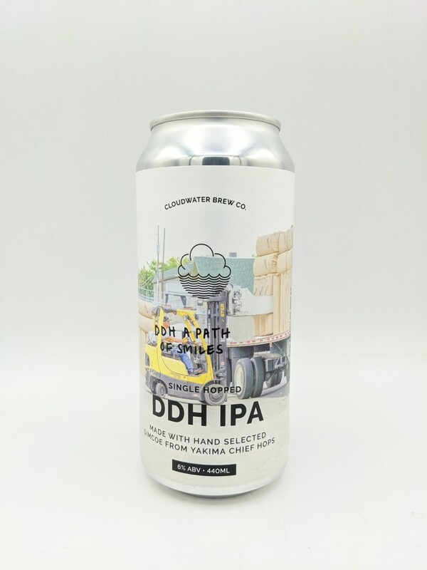 Cloudwater (UK) - A Path Of Smiles - DDH IPA - 6% - Canette 44cl