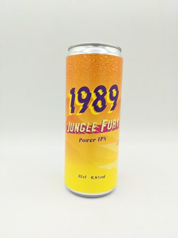 Brasserie 1989 (FR) - Jungle Fury - IPA - 6,8% - Cannette 33cl