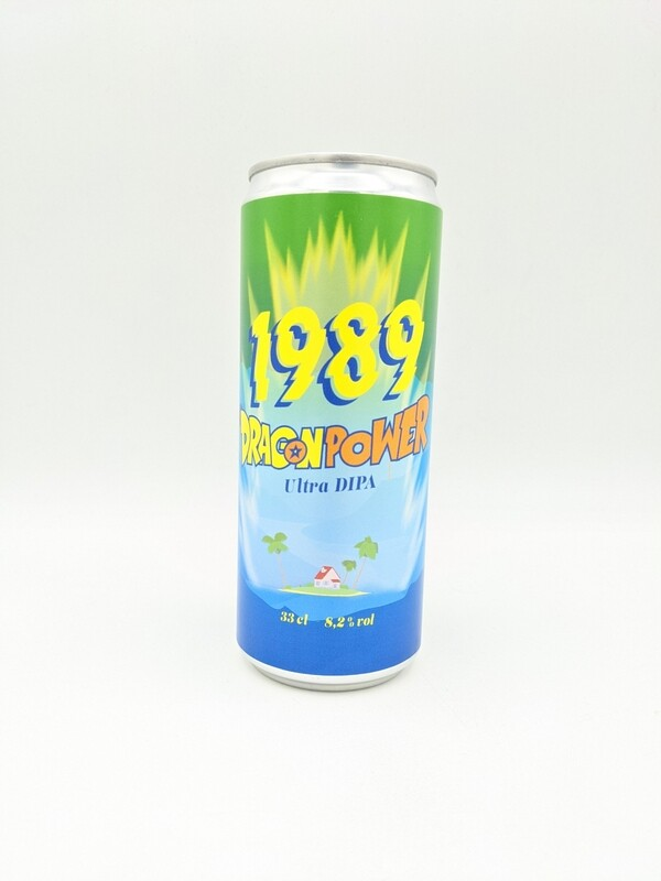 Brasserie 1989 (FR) - Dragon Power - 8.2% - Cannette 33cl
