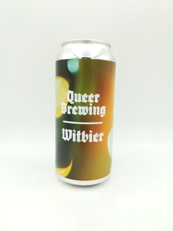 Cloudwater (UK) c/Queer - Flowers - Witbier 4% - Canette 44cl