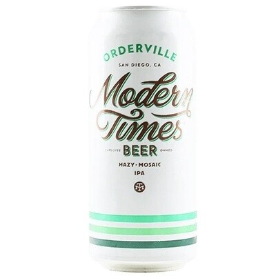 Modern Times (USA) - Orderville - New England IPA - 7% - Canette 44cl