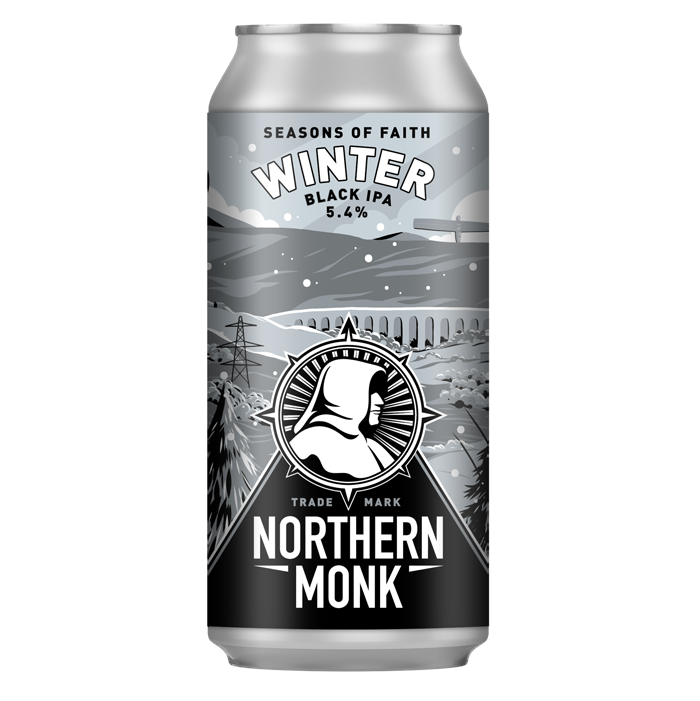 Northern Monk (UK) - Seasons of Faith Winter - Black IPA - 5,4% - Canette 44cl