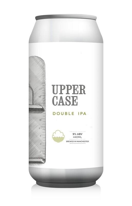 Cloudwater (UK) c/ Trillium - Upper Case  - Double IPA - 9% - Canette 44cl