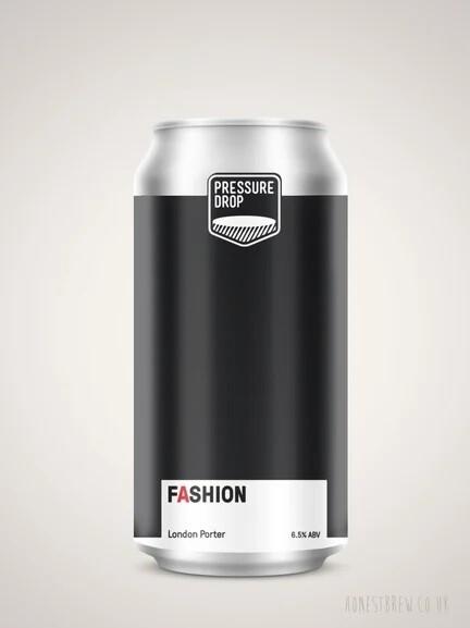 Pressure Drop (UK) - Fashion - English Porter - 6,5% - Canette 44cl: