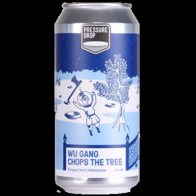 Pressure Drop (UK) - Wu Gang Chops The Tree - Hefeweizen - 3,8% - Canette 44cl