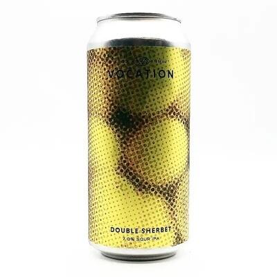 Vocation (UK) - Double Sherbet - Sour IPA - 7% - Canette 44cl