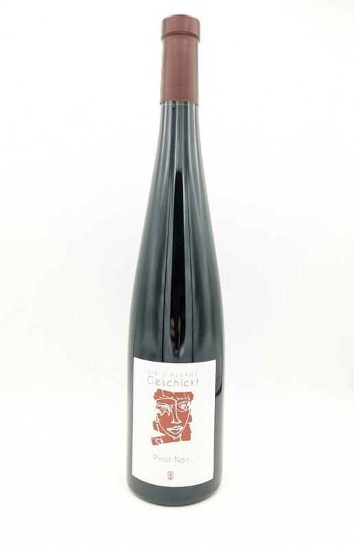 Domaine Geschikt (Alsace) - Pinot Noir - 2018 (vin nature)