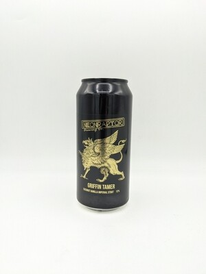 Neon Raptor Brewing Co. (UK) - Griffen Tamer - coconut vanilla imperial stout - 12% - Cannette 44cl