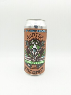 18th Street Brewery (USA) - Hunter Coconut - Milk Stout - 8.5% - Canette 47cl