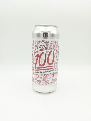 Burley Oak (USA) - 100 (TDH w/ Mosaic) - Double IPA tripple dry-hopped with Mosaic - 8.5% - Canette 47cl
