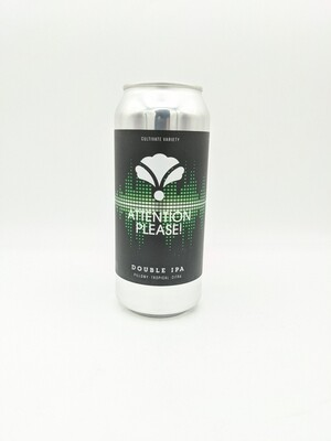 Bearded Iris Brewing (USA) - Attention Please ! - New England Double IPA  - 8.2% - Canette 47cl