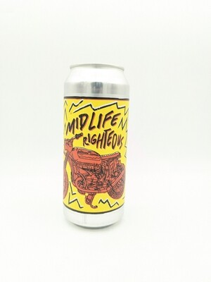 Burley Oak (USA) - Mid Life Righteous - Triple IPA - 9.2% - Canette 47cl