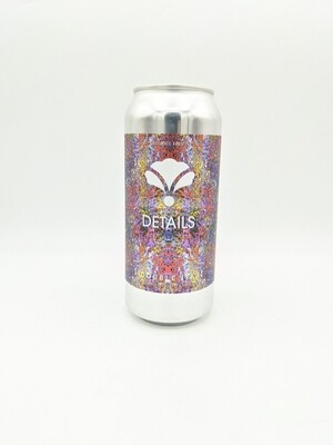 Bearded Iris Brewing (USA) - Details - Double IPA  8.2% - Canette 47cl