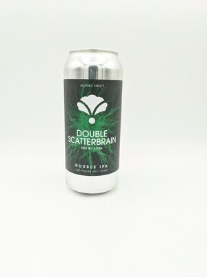 Bearded Iris Brewing (USA) - Double Scatterbrain DDH W/ Citra - New England Double IPA  - 8% - Canette 47cl