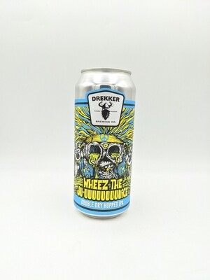 Drekker Brewing (USA) - Wheez the Ju-uuuuuuuuuice (DDH) - IPA - 6% - Canette 47cl