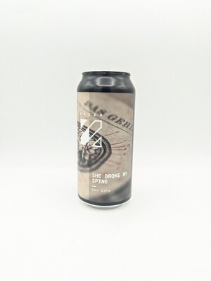 Prizm (FR) - She Broke My Spine - Double New England IPA - 7.6% - Canette 44cl