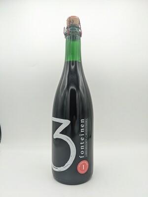 Brouwerij 3 Fonteinen (BEL) - Intens Rood (season 18|19) Blend No. 112 - Lambic - Kriek - 6.5%  - Format 75cl