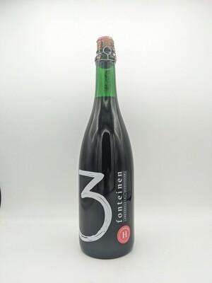 Brouwerij 3 Fonteinen (BEL) - Hommage (season 18|19) Blend No. 9  - Lambic - Kriek - 6.5%  - Format 75cl
