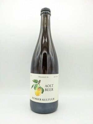 Brauerei J. Kemker (GER) - Aoltbeer (2021-02) Mirabelle - Fermentation mixte - 6% - Bouteille 75cl
