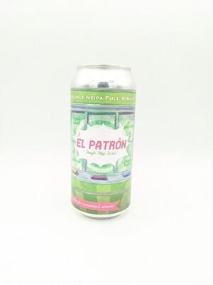 Piggy Brewing (FR) - El Patron - Double New England India Pale Ale IPA - 8% - Canette 44cl