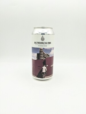 By The River Brew Co. X Wylam (UK) - Big Trouble Al'owa- Imperial Stout - 14% - Canette 44cl