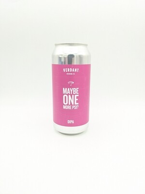Verdant (UK) - Maybe One More PSI? - Double New England IPA - 8% - Canette 44cl
