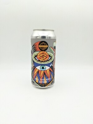 Basqueland Brewing - All The Way Down (Double New England IPA - 8%) - Canette 44cl