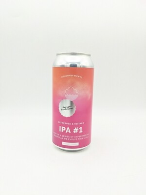 Cloudwater (UK) - IPA recipe Evolution #1 - New England IPA - 6% - Canette 44cl