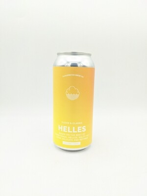 Cloudwater (UK) - Helles (Lager - 4.5%) - Canette 44cl