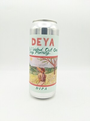 Deya (UK) - As I Walked Out One Spring Morning (Double New England IPA 8%) - Canette 44cl