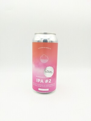 Cloudwater (UK) - IPA recipe Evolution #2 - New England IPA - 6% - Canette 44cl