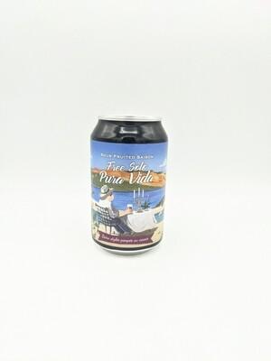 Piggy Brewing (FR) - Free Solo - Pura Vida - Saison 5.8% - Canette 33cl