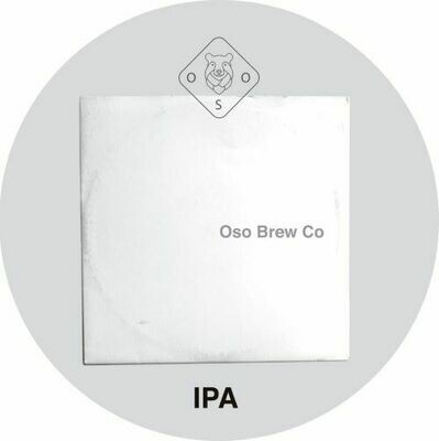 Oso Brew (ESP) - The White Label (Westcoast IPA) - 6.5% - canette 44cl