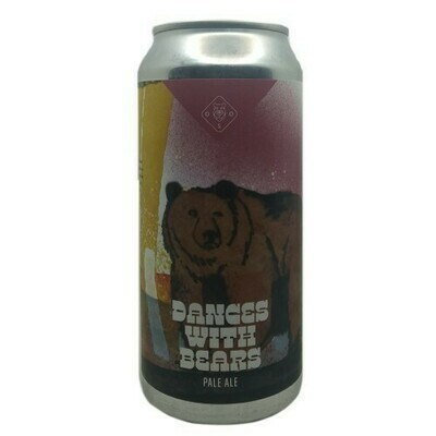 Oso Brew (ESP) - Dances With Bears (Pale Ale) - 4.7% - Canette 75cl
