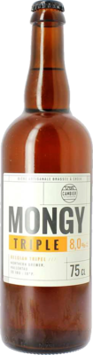 Brasserie Cambier (FR) - Mongy Triple - 8% - Bouteille 75 cl