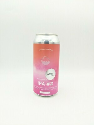 Cloudwater (UK) - IPA recipe Evolution #3 - New England IPA - 6% - Canette 44cl