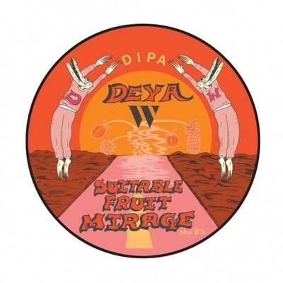 DEYA - c/ Wylam (UK) - Suitable Fruit Mirage (Double New England IPA 8%)  - Canette 44cl