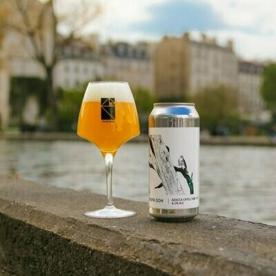 Brasserie Popihn (FR) - NEIPA DDH Azacca Cryo / HBC 472 (New England IPA) - 6.1% - Cannette 44cl