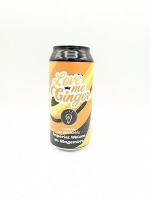 Les Intenables (FR) - Love Me Ginger (Spiced / Weizen) - 8.2% - Cannette 44cl