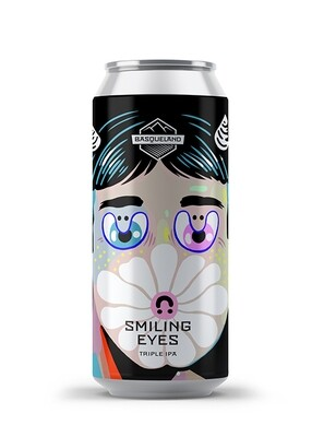 Basqueland Brewing (ES) - Smiling Eyes (Triple New England IPA - 10%) - Canette 44cl