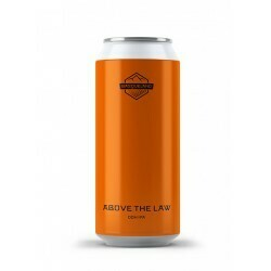 Basqueland Brewing (ES) - Above the Law (New England IPA - 6.5%) - Canette 44cl