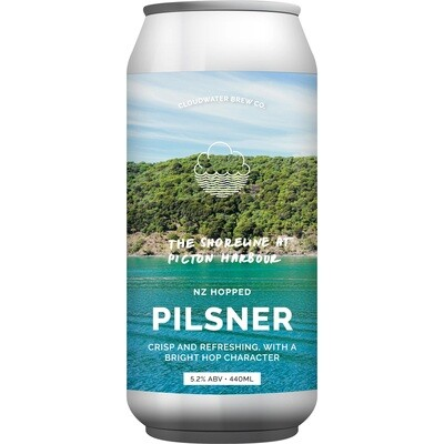 Cloudwater Brew (UK) - The Shoreline At Picton Harbour (Pilsner) 5.2% - Canette 44cl