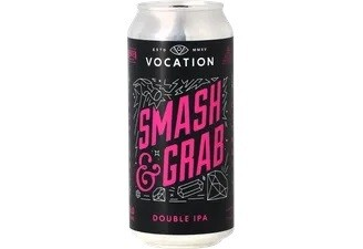 Vocation Brewery (UK) - Smash & Grab (Double IPA) 8.5% - Cannette 44cl